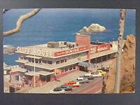 San Francisco California CA Cliff House Restaurant Seal Rocks Postcard 1950s Vtg