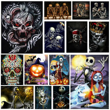 Skeleton Full Drill 5D DIY Diamond Painting Cross Stitch Embroidery Art Decor