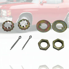 Front Spindles Nuts &  Washer Kit Cotter Pins Fit Mustang II