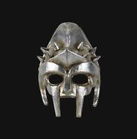 Maschera Di Venezia Argentato Autentica Gladiatore Roma Carnevale 478