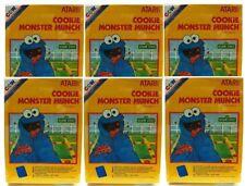 6  LOT  NEW ATARI 2600 GAME Cookie Monster Munch PAL