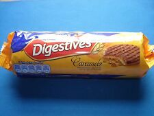 McVities Digestives Caramels Chocolate Biscuits Cookies 300g NEW SHIPS WORLDWIDE