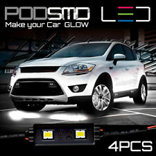 LED Rock Lights Under Car WHITE Accent Kit Underbody Neon Glow for Mazda CX-5