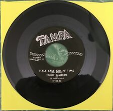 TOMMY DAVIDSON ~ Half Past Kissin' Time ~ rare rockabilly (NM) ~ TAMPA