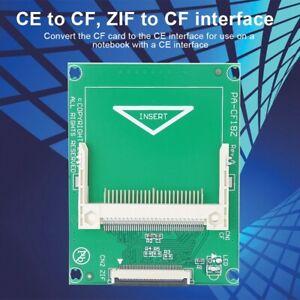 Mini mSATA PCI-E 1.8inch SSD 50-Pin CF To ZIF CE Cable Adapter Converter Card GS