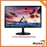 "24"" Samsung S24F350FHE FHD LED PLS Monitor FreeSync HDMI Wide Screen VGA VESA"