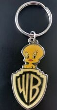 Vintage 1993 metal WB Tweety Bird Warner Bros keychain