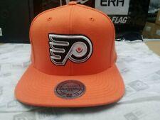 Mitchell & Ness Nhl Philadelphia Flyers Team Logo Custom Retro Snapback Cap Hat
