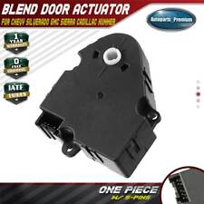 HVAC AC Heater Air Blend Door Actuator for GM Chevy Silverado GMC Sierra 604-106