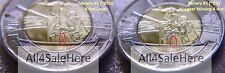 ERROR Pair of 2016 Canada Battle of Atlantic $2 Dollars Coins 4-dot Varieties