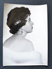 Photographie Argentique - Années 50 - Photo Sponner - Portrait de Femme - Dos