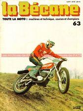 LA BECANE  63 KTM 125 GS 250 MC5 Evel KNIEVEL KOEHLER ESCOFFIER KREIDLER Florett