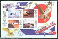 SIERRA  LEONE  IMPERF 80th ANNIVERSARY OF THE RAF SHEET  SC#2134   MINT NH