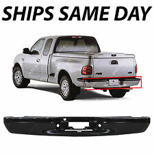 NEW Primered - Rear Steel Bumper Bar Replacement for 1997-2003 Ford F-150 Pickup