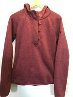 North Face Sweater Sweatshirt large Hoodie Pink Pullover Womens Knit