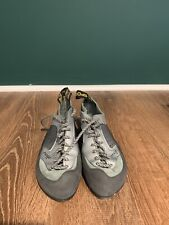 La Sportiva Womens Suede Lace Up Rock Climbing Shoes Size Us 6 Eu 37