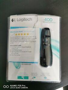 Logitech R400 Wireless Presenter Presentation Laser Pointer Clicker Slideshow