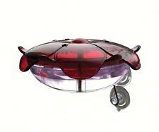 Droll Yankees Ruby Sipper 5 ounce Hummingbird Window Feeder Lavender RS3WL