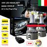 8 Lati 110W 30000LM H8 H9 H11 360° Auto Canbus LED Fari Lampade Kit Bianco 6000K