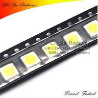 20*5=100PCS PLCC-6 5050 SMD SMT LED 5 colors light Ultra bright Mix kits