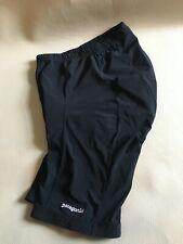 Patagonia mens eight panel black cycle shorts size medium