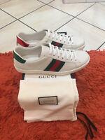 Gucci Ace Low Top Sneaker Sneakers Herrenschuhe Neu Shoes Men Trainers Scarpe Ch
