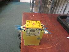 Pilz Safety Relay  PNOZ XV2 24 VDC Range: 0-30sec Used