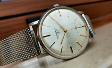 Longines 30L 8903 1 Oversize Watch TOP Luxury Strap Royer Quality Vintage Mesh