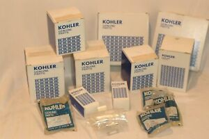 Kohler service parts kit oil, fuel, air filters point set condenser spark plug f