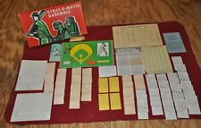 Strat-O-Matic Baseball Board Game Complete With Oldtimer Extras 1971 Teams
