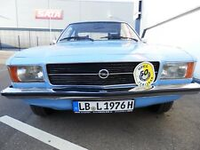 Opel Rekord D 2000S berlina automatic, HU 1/2020, 88000km, Scheckheft