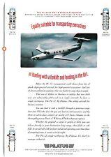 1992 Pilatus PC-12 Aircraft ad 12/30/17a