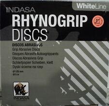 Indasa Rhynogrip 5 inch Solid  Hook & Loop (H&L) Sanding Discs 400 Grit 50 discs