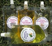 CHEAPEST 100% Pure Organic Jojoba Oil (FREE ALMOND OIL, AVOCADO OIL, CASTOR OIL)