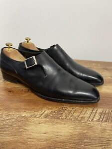 George Cleverley Shoes Monk Men's Size 10 UK Excellent Condition RRP £750