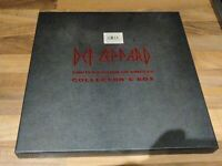 Def Leppard Adrenalize Limited Edition CD Singles Collector's Box