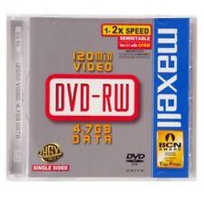 Maxell - DVD-RW 5 Pack Jewel Case 2x
