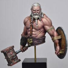 â–ˆ 1/12 Resin Old Man Warrior Hunter Figure Bust Unassembled Unpainted 3593