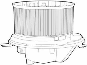 Denso Cabin Gebläse Lüfter / Motor Für Ein VW Jetta Limousine