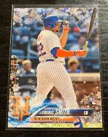 Dominic Smith RC 2018 Topps Holiday HMW183 Metallic Slow Flake New York Mets