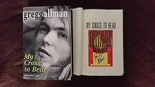 New Signed Book Gregg Allman My Cross to Bear 1 1 HC DJ The Brothers Band Music