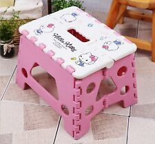 Hello Kitty Cute Folding Chair Kids Picnic Outdoor Convenient Easy