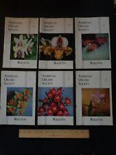 Vintage American Orchid Society Bulletin 1964 Jan thru Dec. (12 issues)