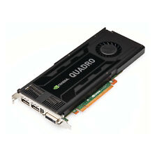 Nvidia Quadro K4000 Cad Graphic Card 3GB Ram Pcie x16 1xDVI 2x Displayport Grade