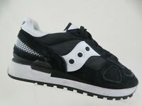 SAUCONY Shadow Black Sz 7 Women Lace-Up Oxfords