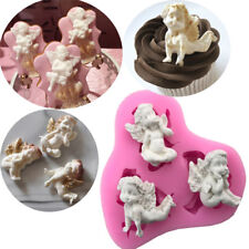 3D Cake Mold Silicone Mould Baby Angel Silicone Molds Fondant Baking Decorating