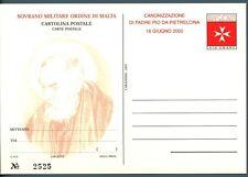 SMOM - Cart. Post. - 2002 - PADRE PIO