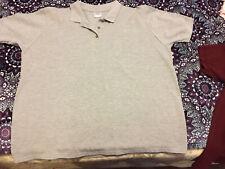 Men's Gilden Polo Shirt, Grey Size XL