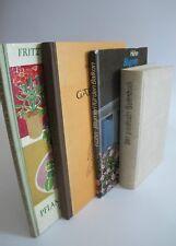 Konvolut 4 Bücher Garten Blumen Pflanzen Gebundene Ausgaben K1604