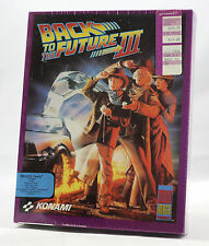 "Big Box PC Sealed - Konami Back to the Future Part 3 III 3.5"" MS-DOS MINT 1991"